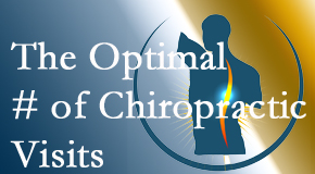 It's up to you and your pain as to how often you see the Montreal chiropractor.