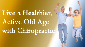 Dr. Hoang's Chiropractic Clinic invites older patients to incorporate chiropractic into their healthcare plan for pain relief and life's fun.