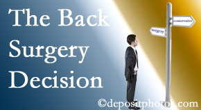 Montreal back surgery for a disc herniation is an option to be carefully studied before a decision is made to proceed.