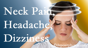 Dr. Hoang's Chiropractic Clinic helps decrease neck pain and dizziness and related neck muscle issues.