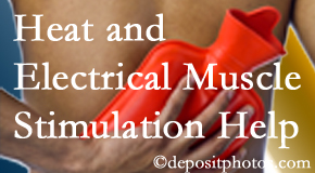Dr. Hoang's Chiropractic Clinic utilizes heat and electrical stimulation for Montreal pain relief.
