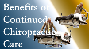 Dr. Hoang's Chiropractic Clinic presents continued chiropractic care (aka maintenance care) as it is research-documented as effective.