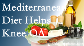 Dr. Hoang's Chiropractic Clinic shares recent research about how good a Mediterranean Diet is for knee osteoarthritis as well as quality of life improvement.