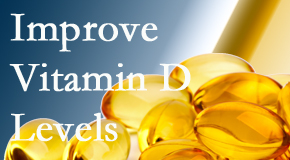 Dr. Hoang's Chiropractic Clinic explains that it's beneficial to raise vitamin D levels.