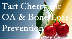 Dr. Hoang's Chiropractic Clinic shares that tart cherries may enhance bone health and prevent osteoarthritis.