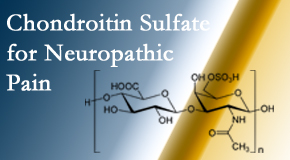 Dr. Hoang's Chiropractic Clinic finds chondroitin sulfate to be an effective addition to the relieving care of sciatic nerve related neuropathic pain.