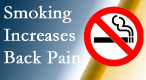 Dr. Hoang's Chiropractic Clinic explains that smoking heightens the pain experience especially spine pain and headache.