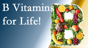Dr. Hoang's Chiropractic Clinic emphasizes the importance of B vitamins to prevent diseases like spina bifida, osteoporosis, myocardial infarction, and more!
