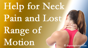 Dr. Hoang's Chiropractic Clinic helps neck pain patients with limited spinal range of motion find relief of pain and improved motion.