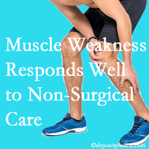 Montreal chiropractic non-surgical care manytimes improves muscle weakness in back and leg pain patients.
