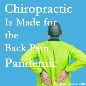 Montreal chiropractic care at Dr. Hoang's Chiropractic Clinic is prepared for the pandemic of low back pain.