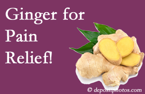 Montreal chronic pain and osteoarthritis pain patients will want to look in to ginger for its many varied benefits not least of which is pain reduction.