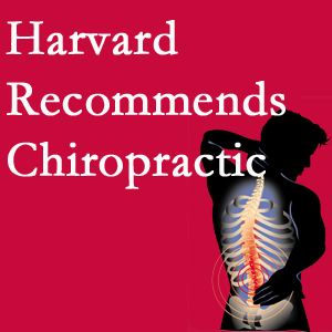 Dr. Hoang's Chiropractic Clinic offers chiropractic care like Harvard recommends.