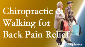 Dr. Hoang's Chiropractic Clinic encourages walking for back pain relief along with chiropractic treatment to maximize distance walked.