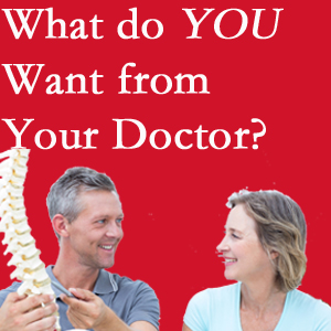 Montreal chiropractic at Dr. Hoang's Chiropractic Clinic includes examination, diagnosis, treatment, and listening!