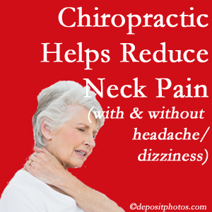 Montreal chiropractic treatment of neck pain even with headache and dizziness relieves pain at a reduced cost and increased effectiveness.