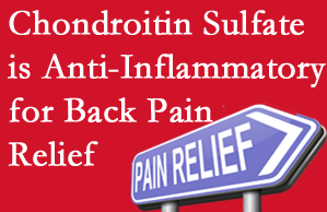 Montreal chiropractic treatment plan at Dr. Hoang's Chiropractic Clinic may well include chondroitin sulfate!