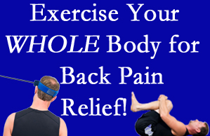 Montreal chiropractic care includes exercise to help enhance back pain relief at Dr. Hoang's Chiropractic Clinic.