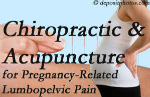 Montreal chiropractic and acupuncture may help pregnancy-related back pain and lumbopelvic pain.