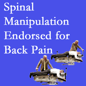 Montreal chiropractic care includes spinal manipulation, an effective,  non-invasive, non-drug approach to low back pain relief.