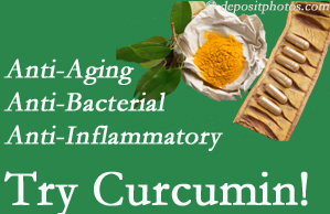 Pain-relieving curcumin may be a good addition to the Montreal chiropractic treatment plan.