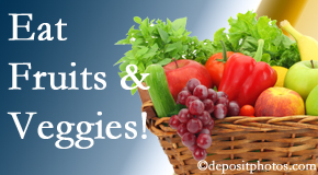 Dr. Hoang's Chiropractic Clinic urges Montreal chiropractic patients to eat fruits and vegetables to decrease inflammation and potentially live longer.